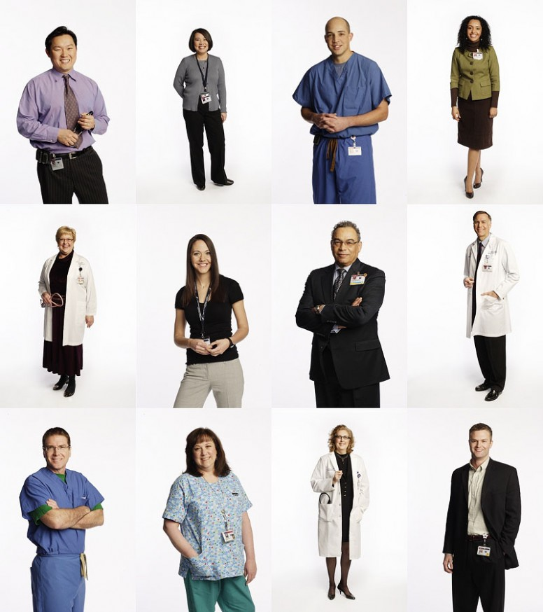 Portraits of Legacy Hospital employees