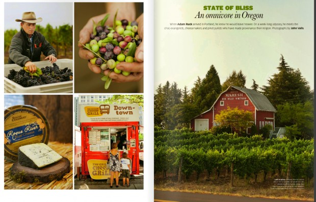 Oregon wine and travel photos in the UK's Telegraph