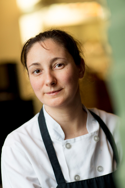 chef portrait sarah pliner aviary restaurant