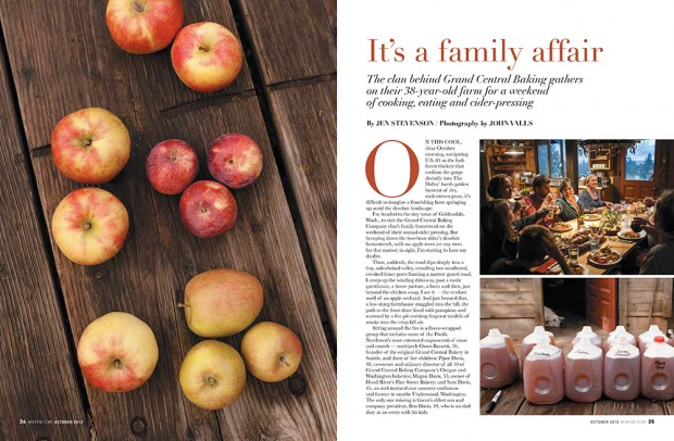 Mix Magazine story about Goldendale Washington Cider Pressing