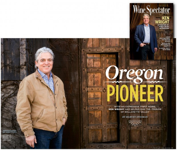 Wine Spectator feature
