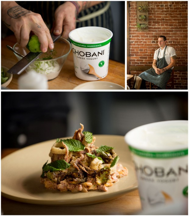Gabe Rucker of Le Pigeon using Chobani yogurt